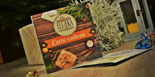 Illustration carte cadeau EUREKA